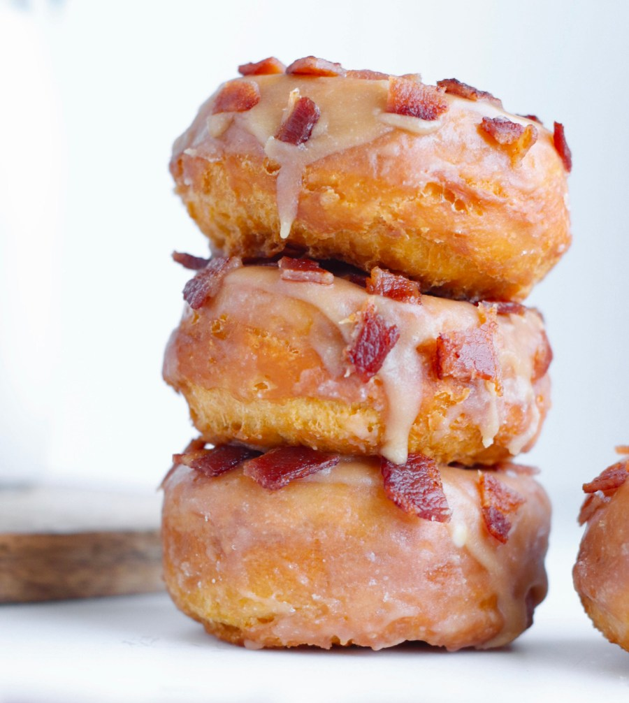 How to Make Maple Bacon Glazed Donuts at Home