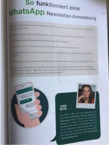 WhatsApp für Unternehmen , Jana Behr