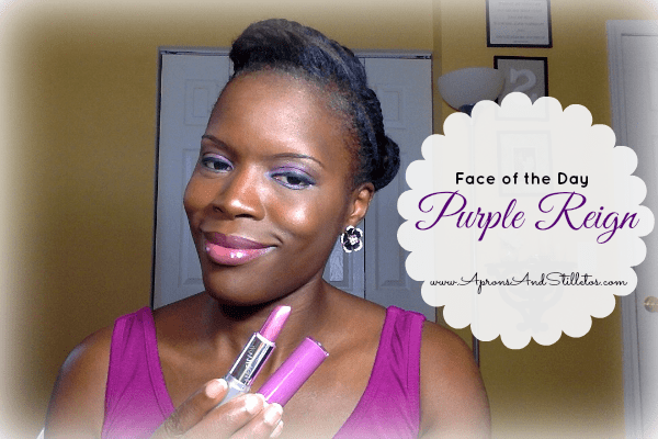 Face of the Day - Purple Reign