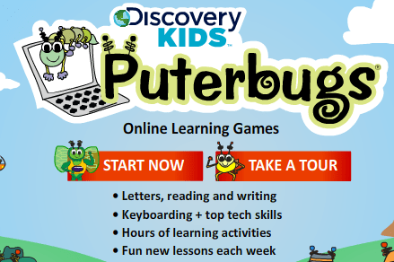 Summer Deal — Discovery Kids Puterbugs 3 Month Educational Online Game Subscription $8 (was $24)
