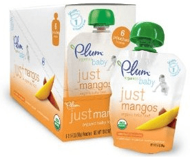 Plum Organics Tots Mish Mash-Peach, 3.17-Ounce (Pack of 12) Just $0.86 Each Shipped!