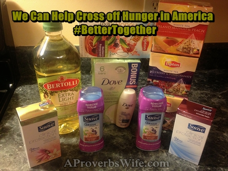 Cross Off Hunger| Feeding America| Making Life Better| Sustainability| Unilever
