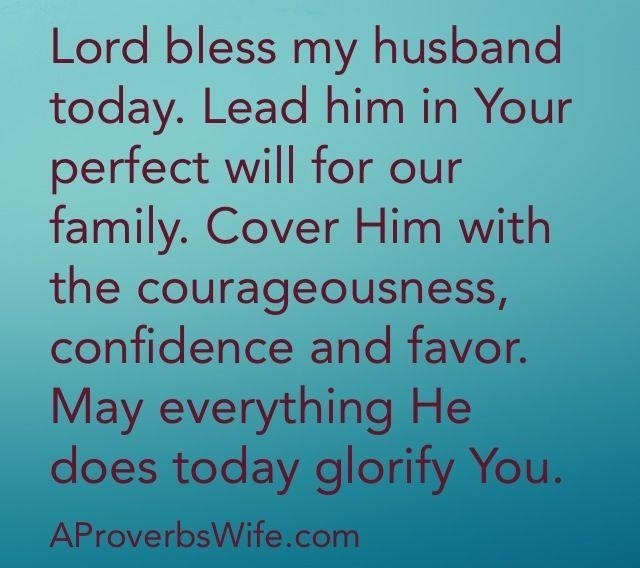 Prayer for Husband's