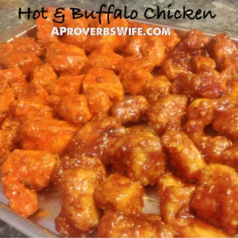 Buffalo & BBQ Chicken Tenders