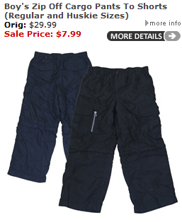 Urban Boundaries: Boys Cargo Pants and Shorts ONLY $8 per pair!! (Was $35)