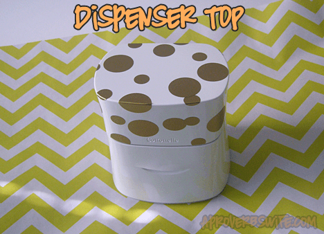 DIY Confetti Face Wipes Dispenser