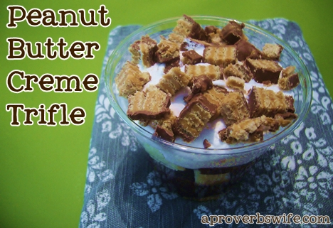 Nestle Crunch Girl Scout Bar Peanut Butter Creme Trifle