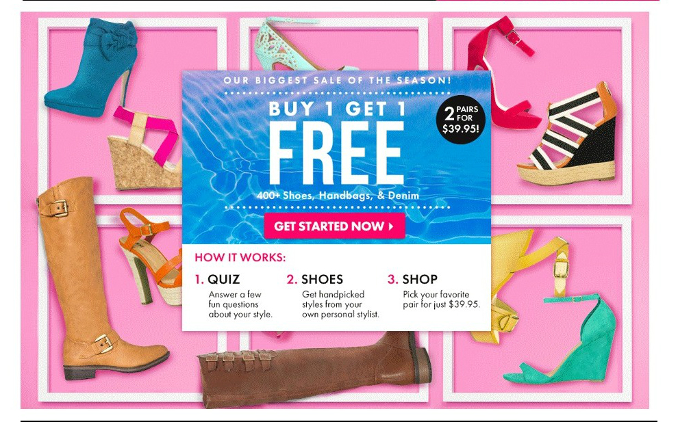 Snag 2 Pair of Designer Shoes For $39.95