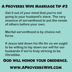 Marriage Tip #2: Serve Like Jesus