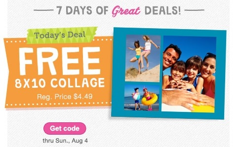 Walgreens | FREE 8×10 photo collage 8/4 ONLY!!
