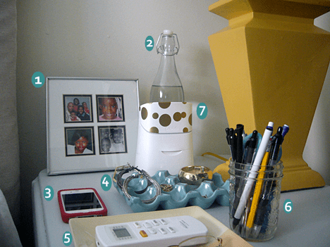 The Anatomy of a Clutter Free Nightstand
