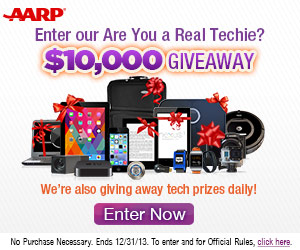 If Your Tech Savvy Enter to Win Daily Prizes + $10,000