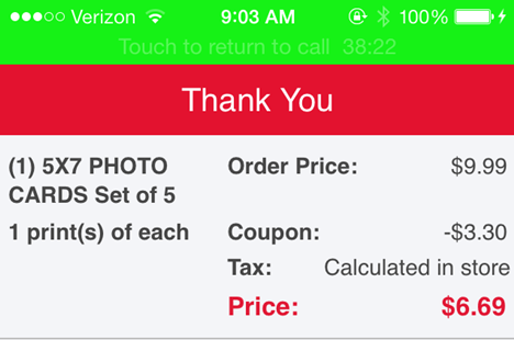 Walgreen's Photo App  #shop 006
