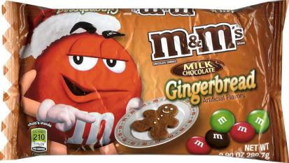 HIGH VALUE Gingerbread M&M's coupon + (3) $200 Walmart Gift Card #Giveaway