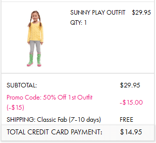 Complete Kids Outfits for ONLY $15 SHIPPED!!