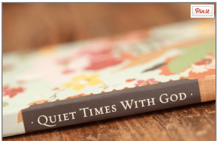 Quiet Times With God Journal