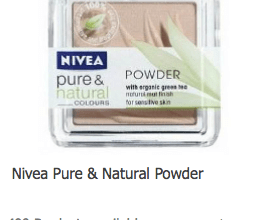 FREE Nivea Pure & Natural Powder