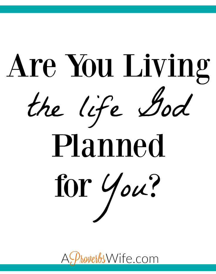 Are You Living The Life God Planned for You?