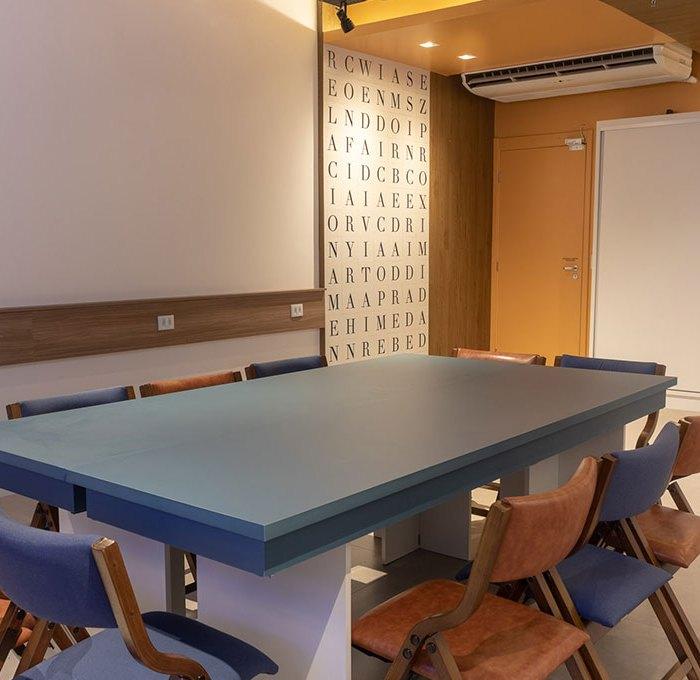 Uma sala, diversas soluções