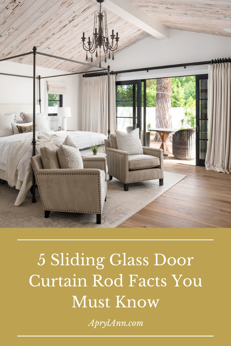 5 sliding glass door curtain rod facts
