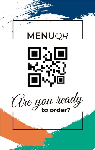 QR ordering Digital Menus