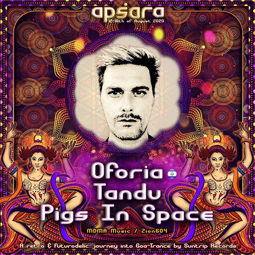 Oforia / Tandu / Pigs In Space / Indoor / Phreaky !!!