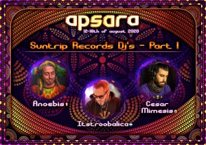 First round of Suntrip DJS !