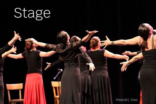 Les satgiaires se dansent dans les stages