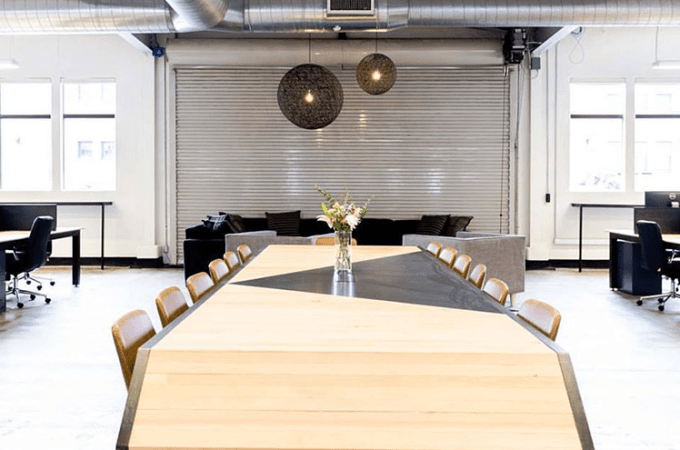 Moniker Commons Creative CoWorking Space by APSGC General Contractor