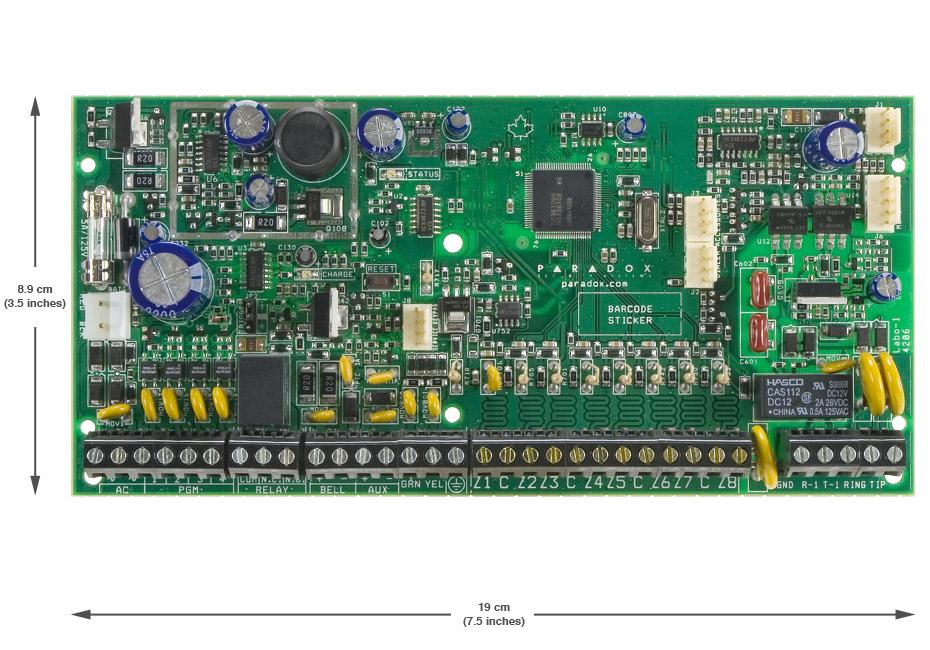 PARADOX SPECTRA SP6000