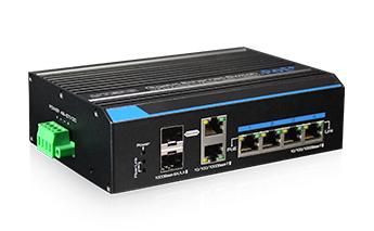 4 prievadų, 4 PoE Komutatorius UTEPO UTP7204GE-HPOE(MS60)