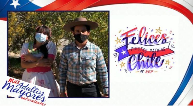 Equipo Más Adultos Mayores Autovalentes desea a la comunidad unas felices Fiestas Patrias