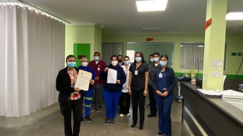 SAR Monte Patria aplicará test de antígeno