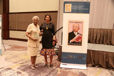 Maxine Smith, Local Arrangements Coordinator & Sylvia Cyrus, ASALH Executive Director
