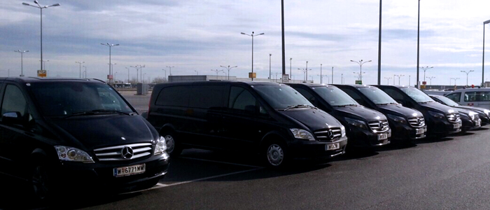Airport Services VIE Minivan Fleet