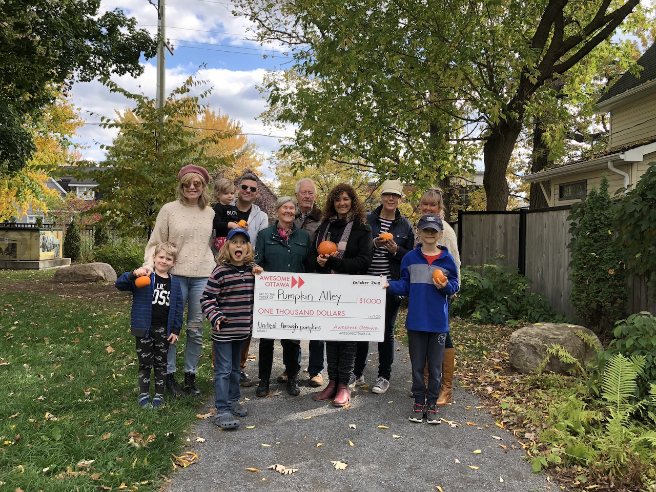 Finder is committed to editorial independence. Photos: Awesome Ottawa's October grant supports Pumpkin Alley - Apartment613