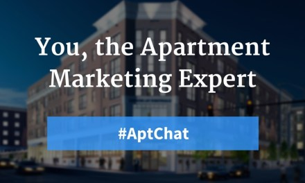 You, the Apartment Marketing Expert