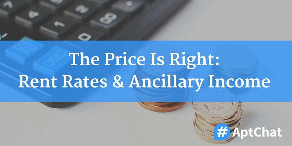 The Price Is Right: Rent Rates & Ancillary Income