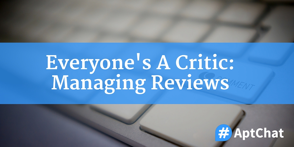 Everyone's A Critic: Managing Reviews