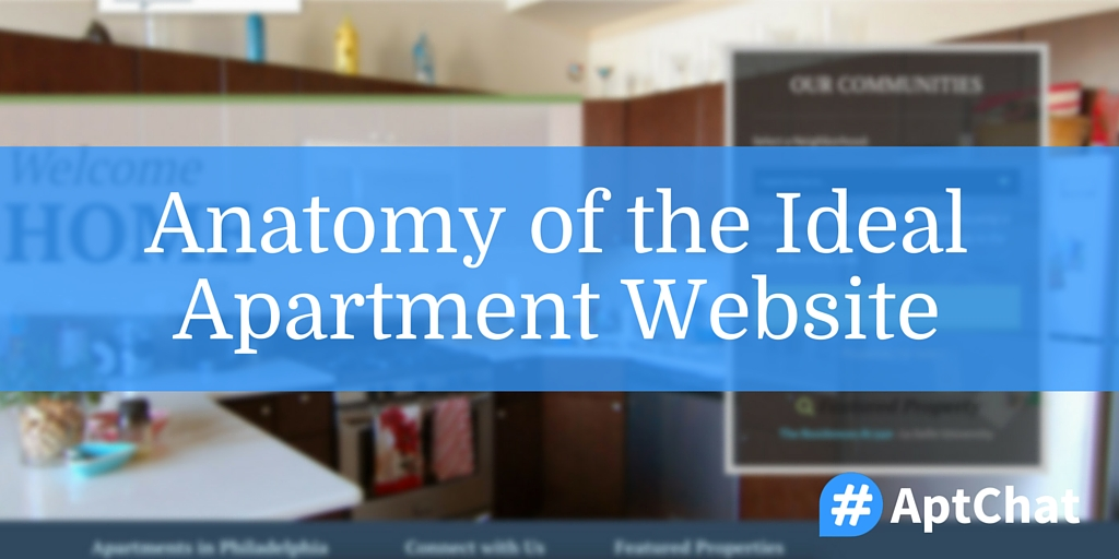 Anatomy Of The Ideal Apartment Website Aptchat