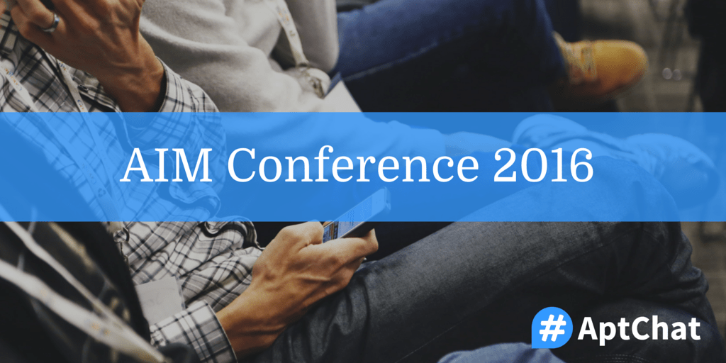 AIM Conference 2016
