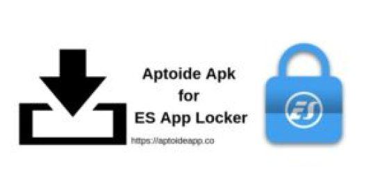 Aptoide Apk for ES App Locker
