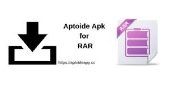 Aptoide Apk for RAR Apk