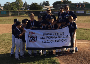 Aptos Little League Champions