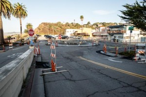 New Rio del Mar Roundabout is Now Under Construction