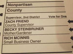 Tough Choice for 2nd District Supervisor