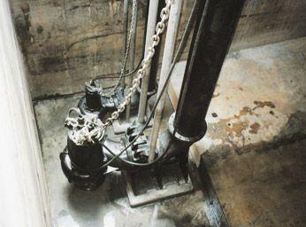 Hệ thống bom chìm nước thải