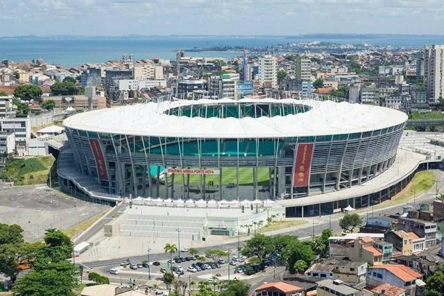 Além de R$ 323,6 de dívida com o BNDES e mais gasto de R$ 97,7 milhões, governo da BA terá que arcar contraprestação bilionária para concessionário da Arena Fonte Nova. (Foto: Wikicommons)