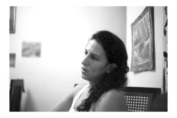 A socióloga Mariana, cidadã cubana, filha de brasileiro e mexicana. Foto: Veruscka Girio