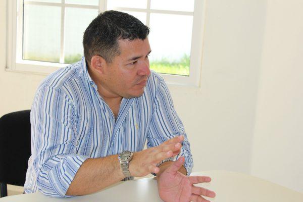 O promotor especial Javier Guzmán
